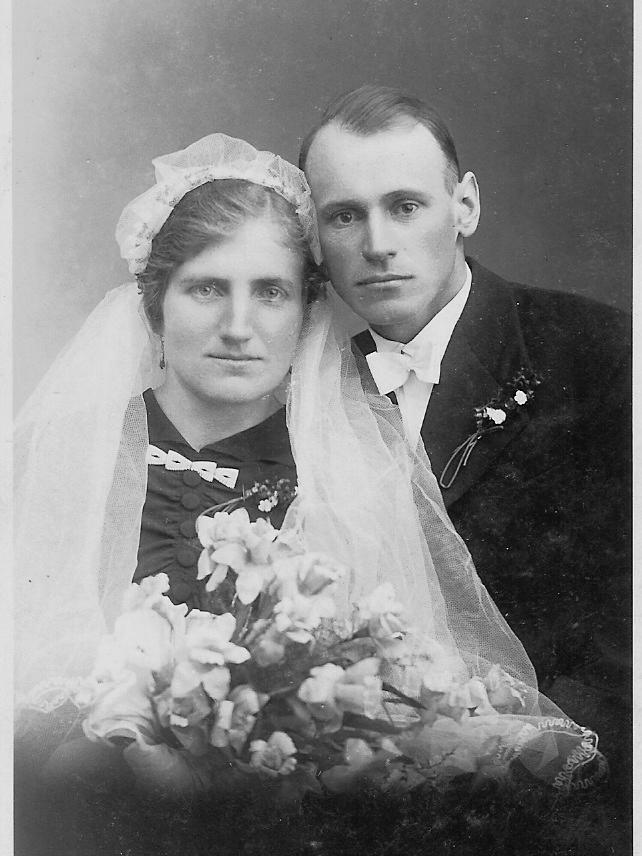 Hochzeitsfoto von Tante Regina...