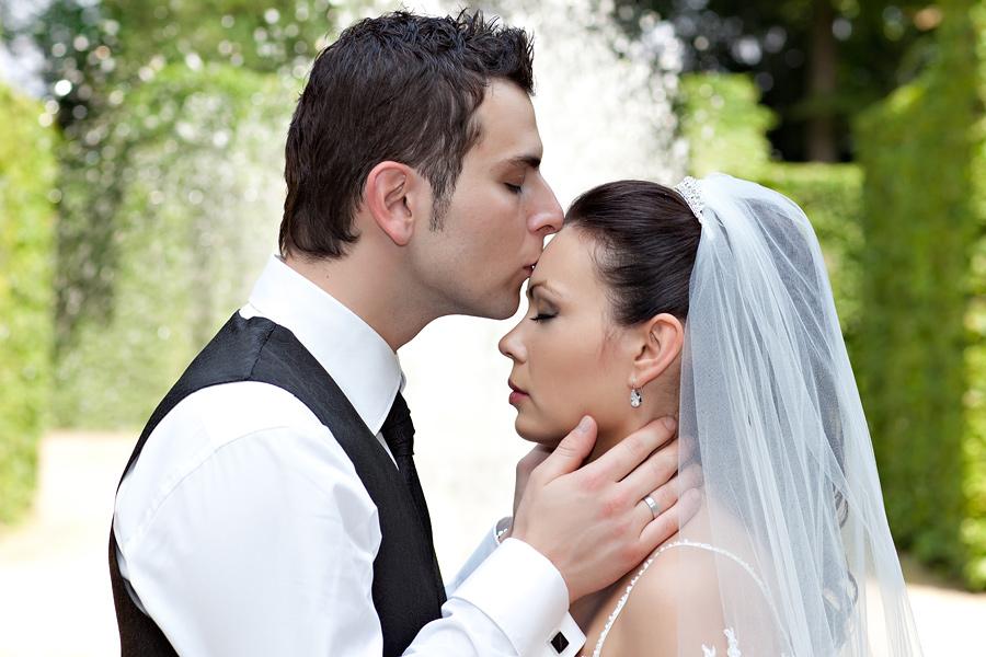 Hochzeitsfoto von Violetta und Wasilis.