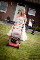 Hochzeitsfotograf NRW - hier, in Rees - Hochzeitsfoto mal anders ;)