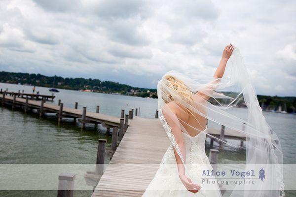Hochzeitsfotografie am Starnberger See