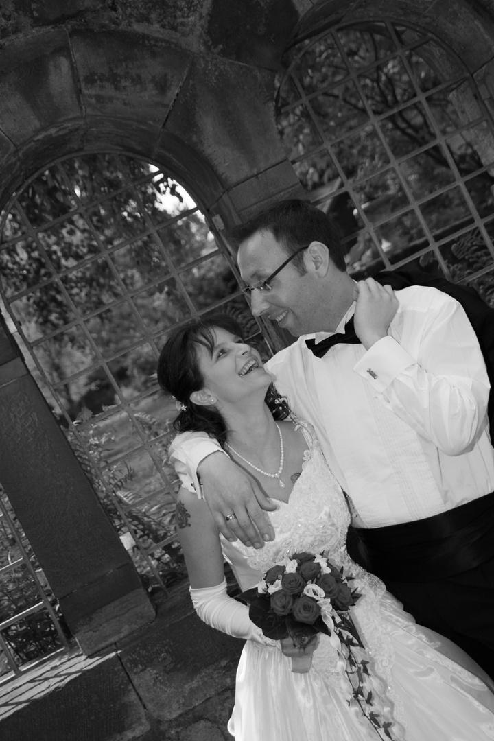 Hochzeitsfotografie auch mal schräg...
