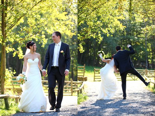 Hochzeitsfotografie im Hessenpark