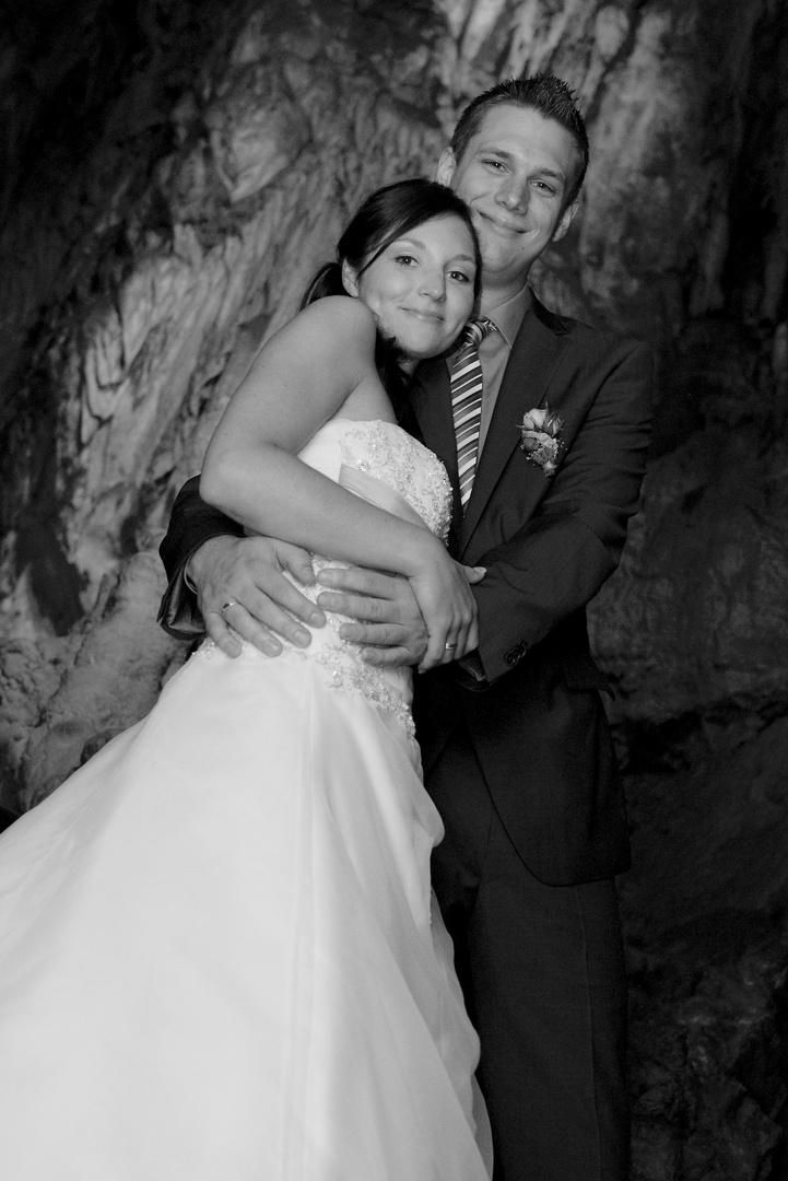 Hochzeitsfotografie in Warstein / Tropfsteinhöhle