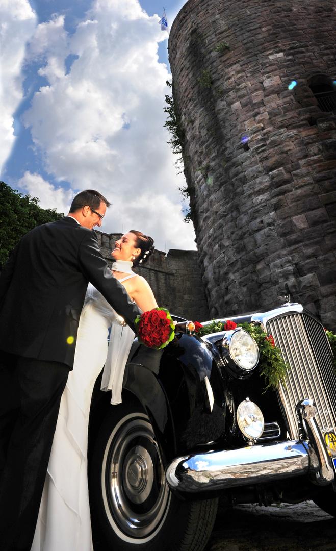 Hochzeitsfotografie Schloss Saaleck Hammelburg