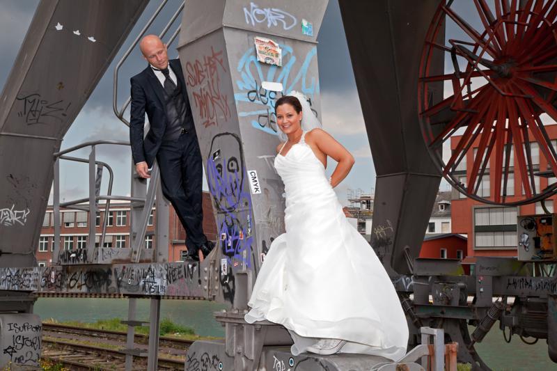 Hochzeitsfotos mal anders...