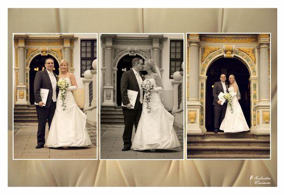 Hochzeitsfotos Schloss Delitzsch