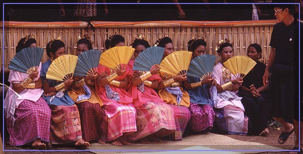 Hochzeitsgäste bei den Toraja