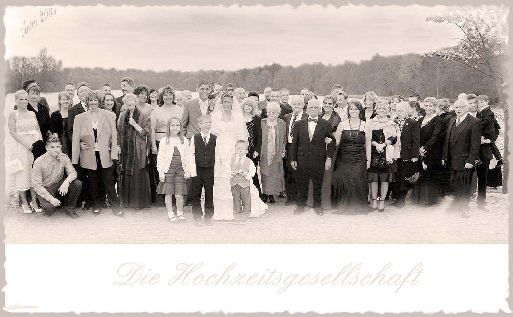 Hochzeitsgesellschaft.....