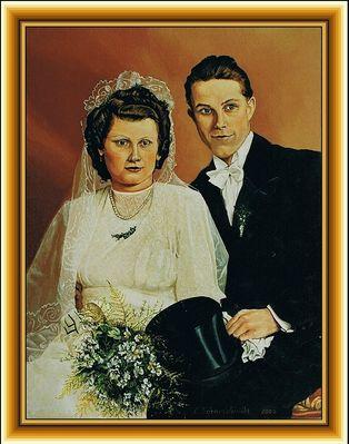 Hochzeitspaar (Öl / 2000 )