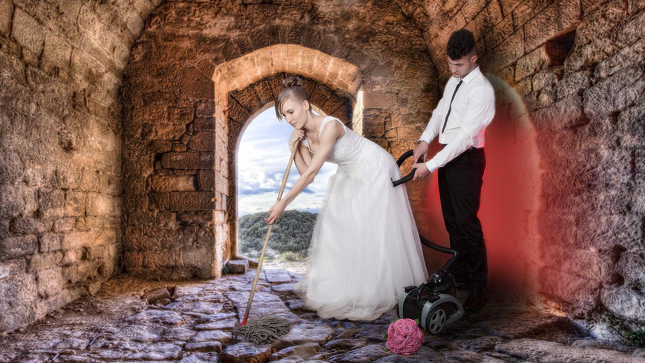 Hochzeitsputz