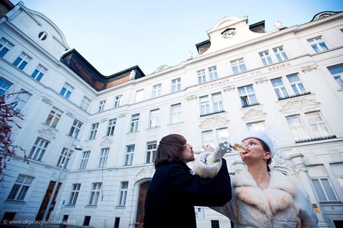 Hochzeitsreportage :: Standesamt in Wien