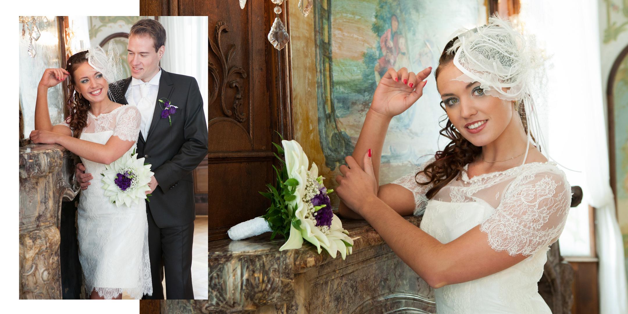 Hochzeitsshooting im Schloß 3