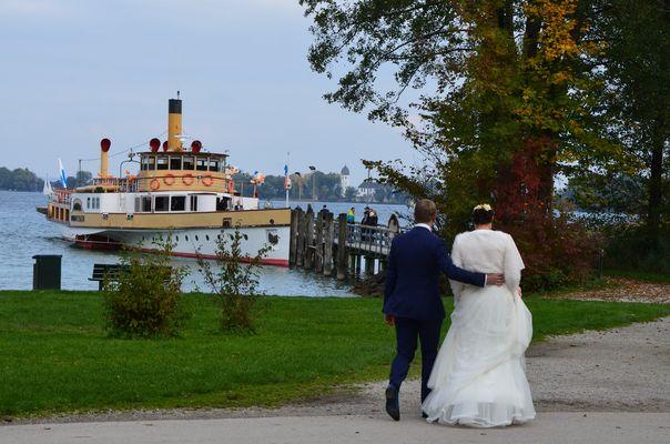 Hochzeitstraum am Chiemsee