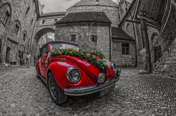 Hochzeitswagen....