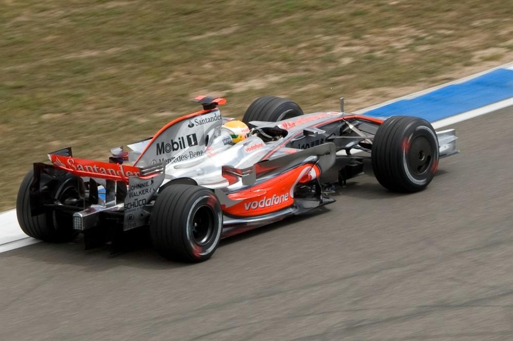 Hockenheim 2008 Lewis Hamilton