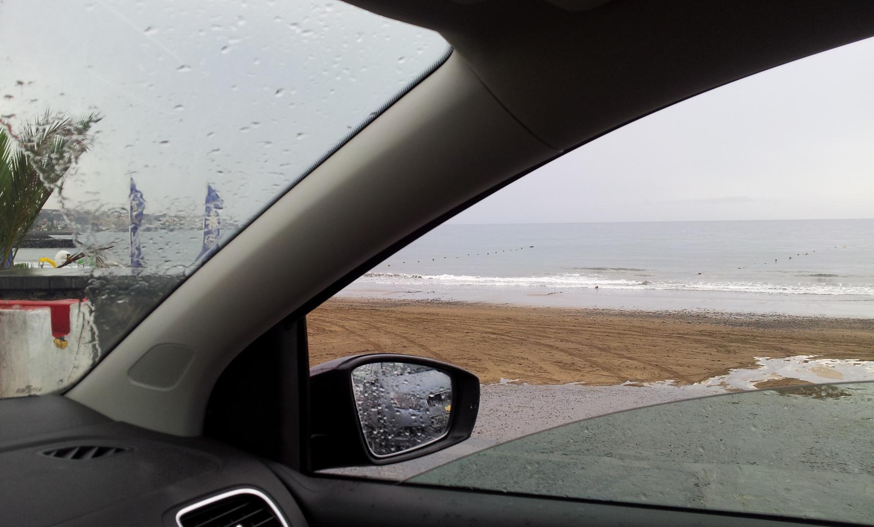 Höchst selten - es regnet!!!
