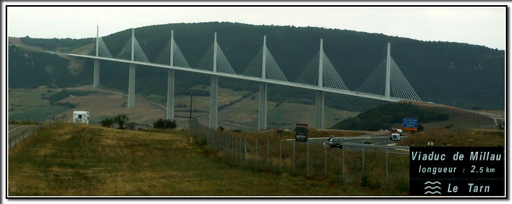 Höchste Brücke der Welt - Viaduc de Millau
