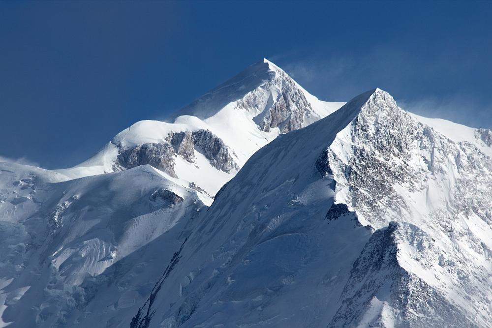 Höchste Spitze der Alpen