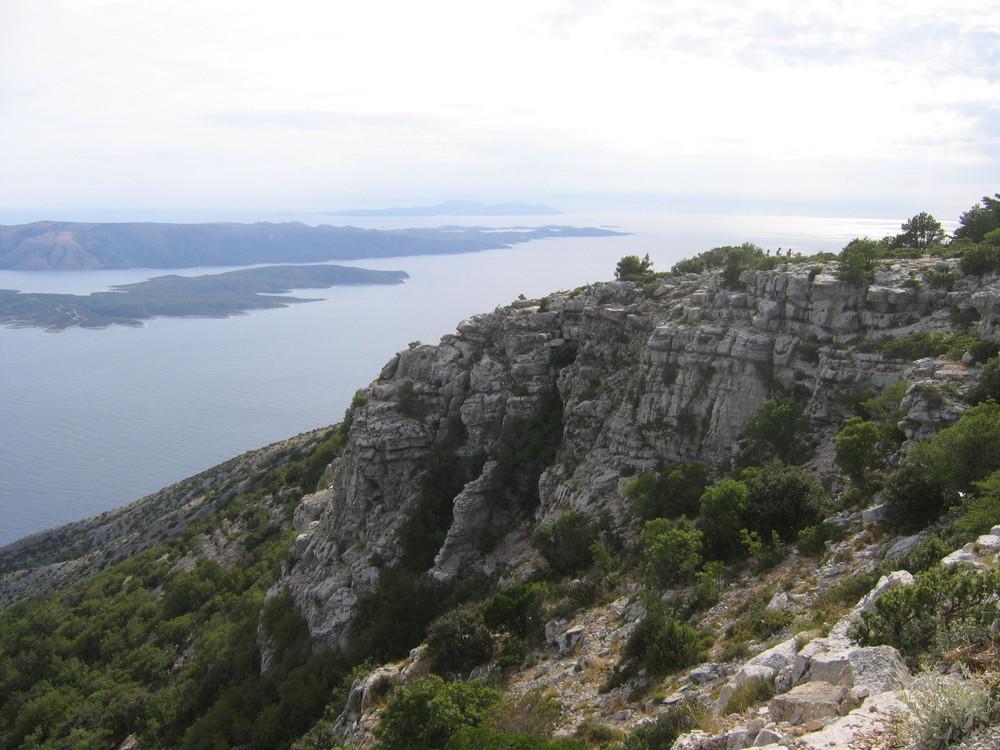 Höchster Punkt der Insel Brac