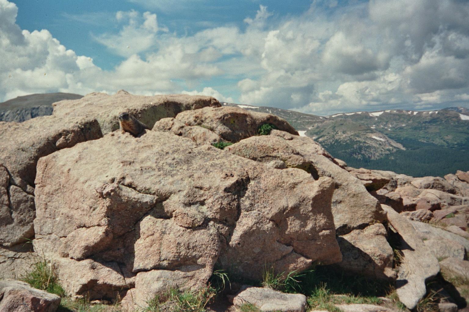 Höchster Punkt der USA Rocky Mountains