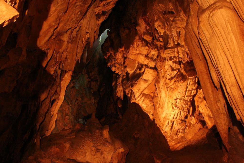 Höhle bei Laze in Slowenien