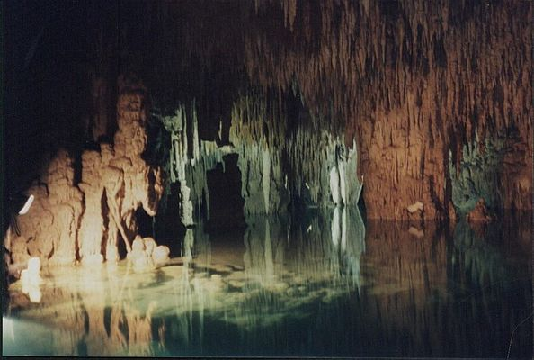 Höhle in Mexiko