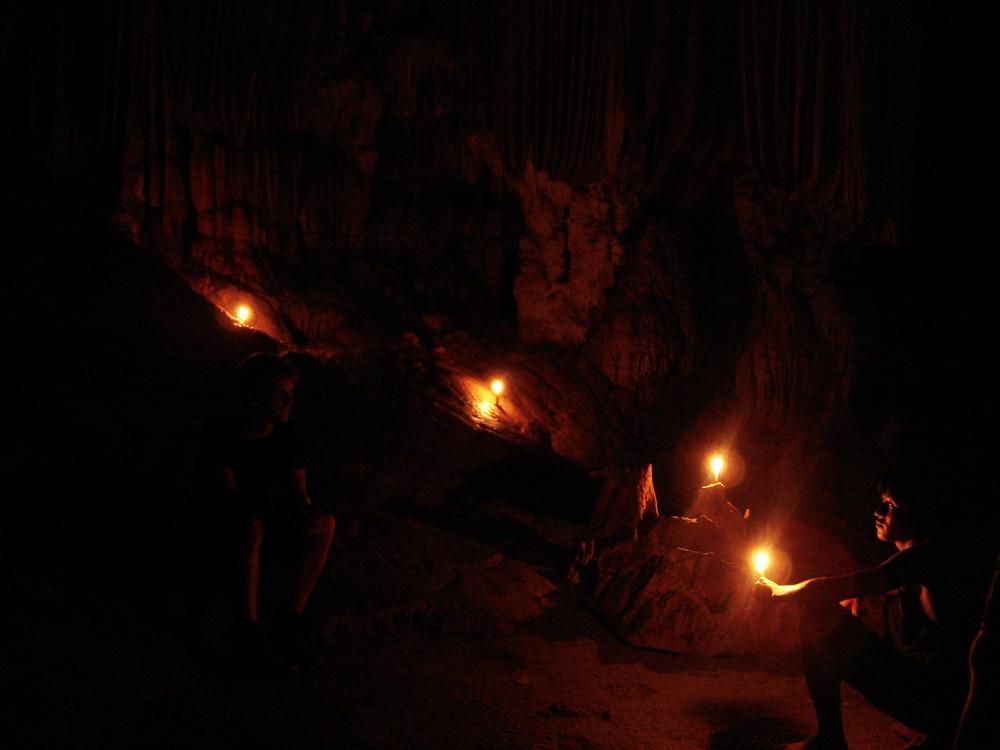 Höhle - Laos