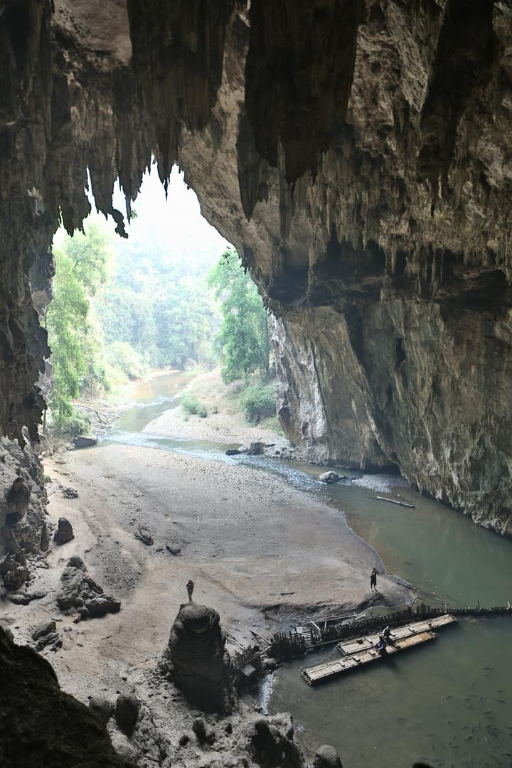 Höhlen Nord Thailand