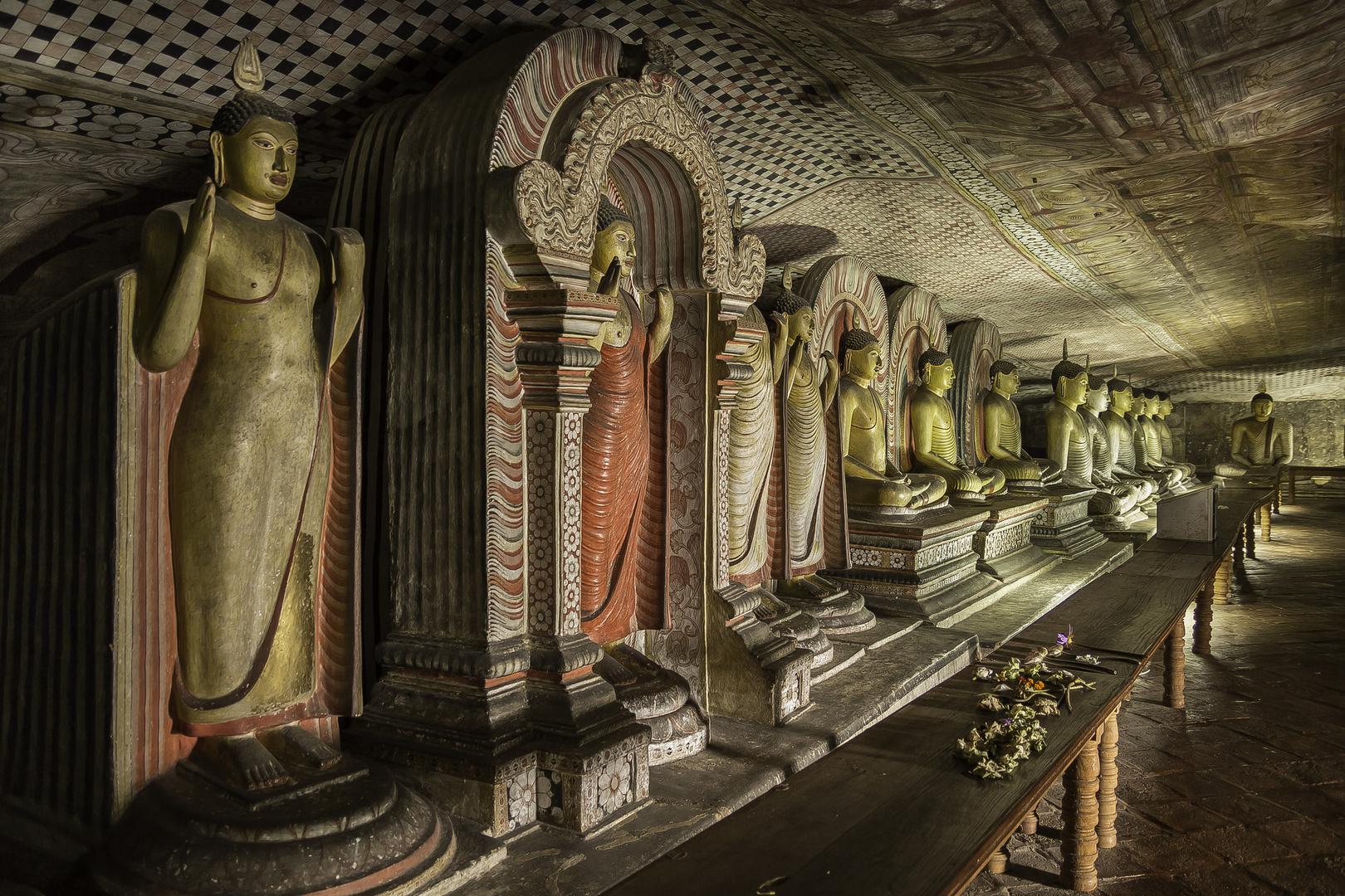 Höhlen von Dambulla 2