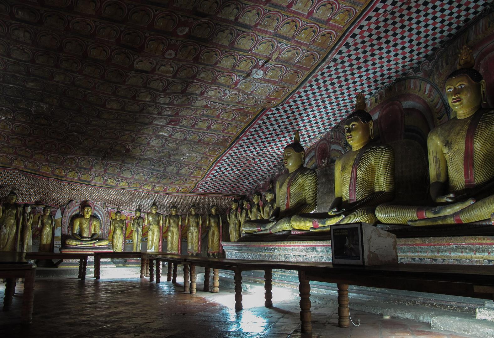 Höhlen von Dambulla, Sri Lanka