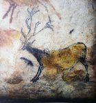 Höhlen von Lascaux - im Saal der Stiere