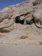 Höhlenbewohner in Sinai