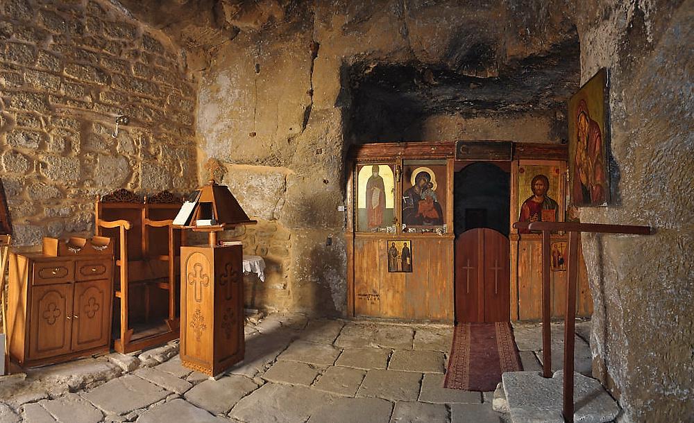 Höhlenkirche in Matala