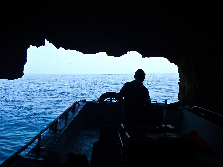 höhlenschifffahrt, zakynthos 2008