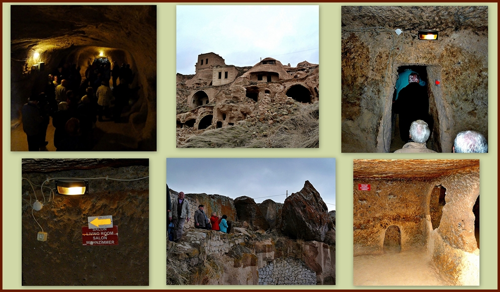Höhlenwohnung.