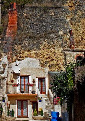 Höhlenwohnung in Amboise/Loire