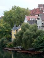 Hölderlin-Turm in Tübingen am Neckar.
