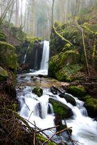 Höllbachwasserfall im Südschwarzwald