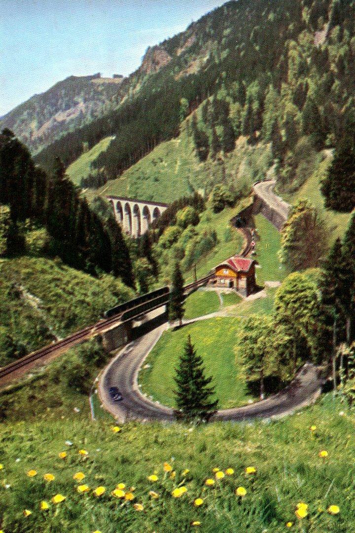 """""""Höllentalbahn mit Ravennaviadukt"""""""