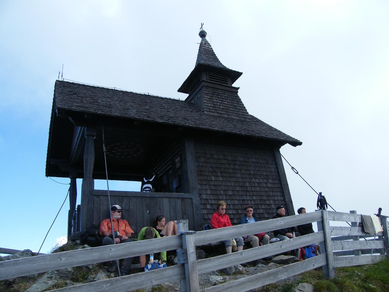 Hölzerne Kapelle am Kellerjoch