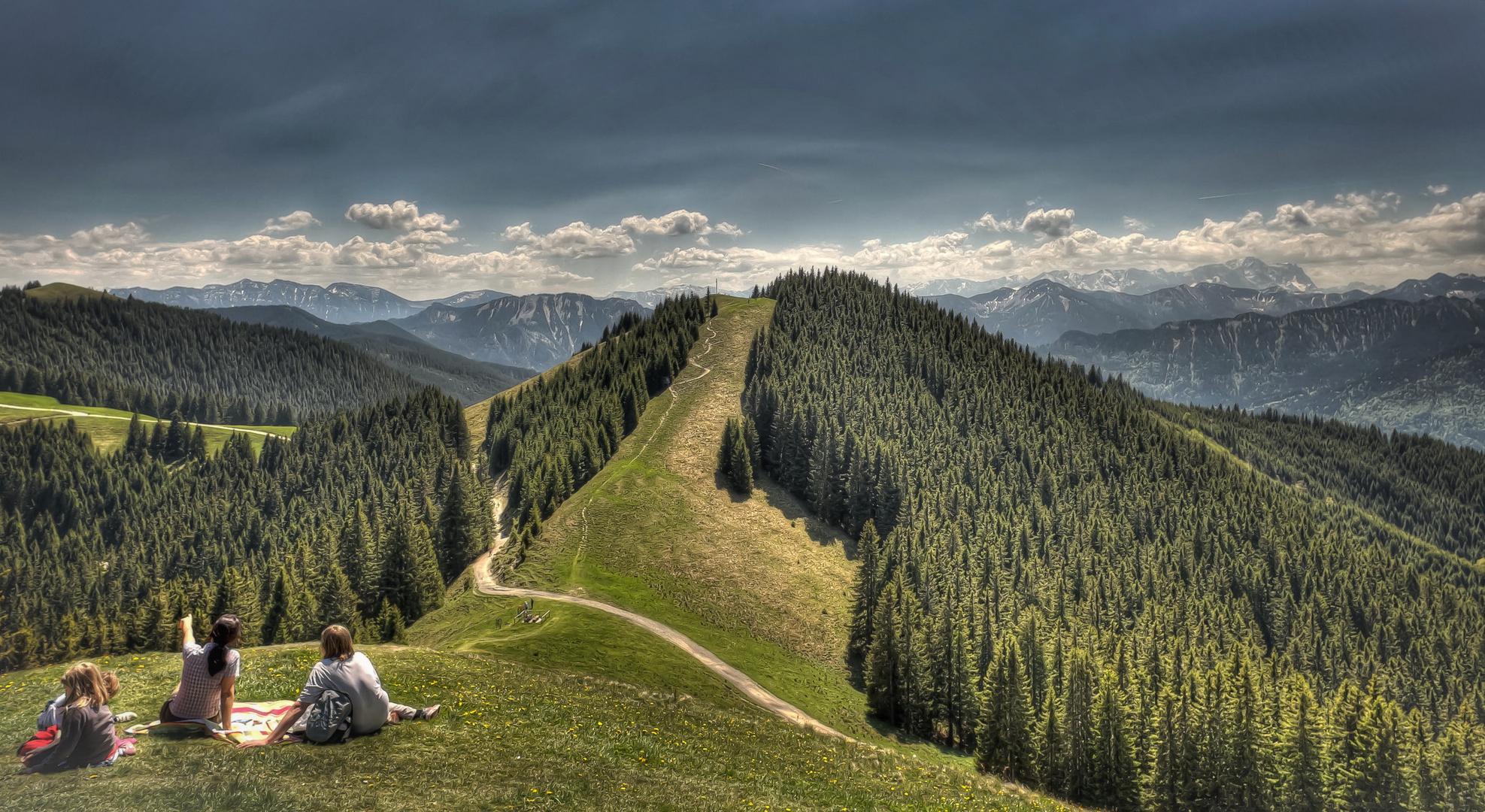 Hörnle in den Alpen