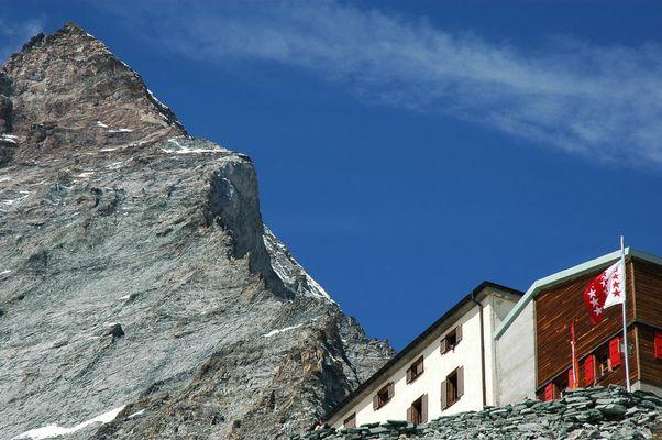 Hörnlihütte, 3260 m.ü.M.