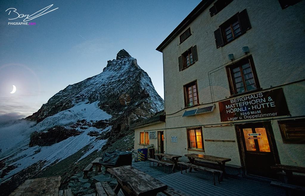 Hörnlihütte Matterhorn
