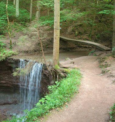 Hörschbachwasserfall bei Murrhardt Bild 3