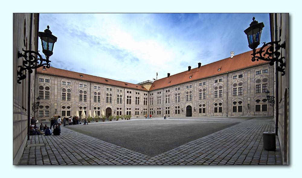 Hof der Residenz München