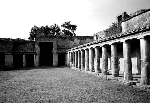 Hof in Pompeji (Neapel 99 #1)