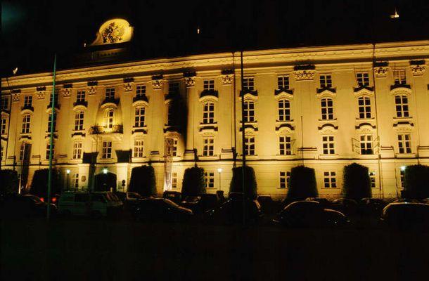 Hofburg bei Nacht ...(oder: mir war einfach langweilig zu Hause!)