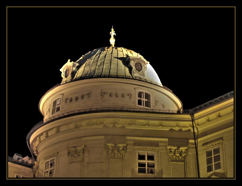 Hofburg Innsbruck by night