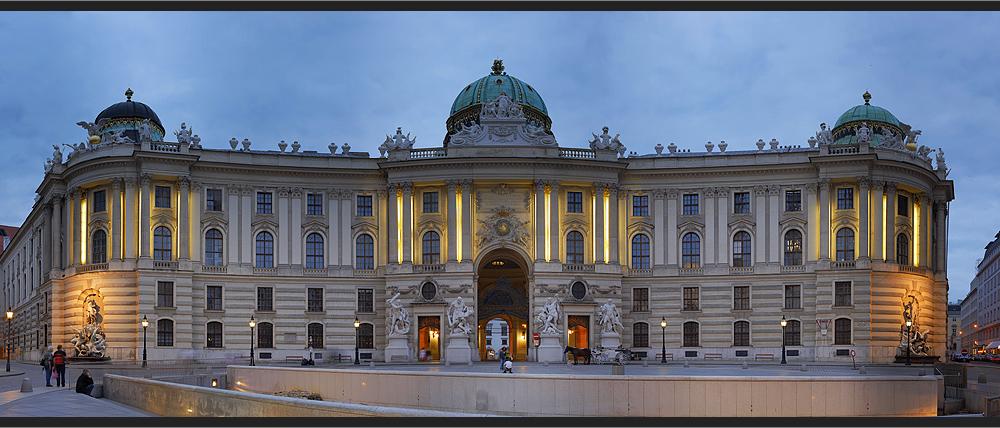 Hofburg - Michaelertor aus 29 Bildern