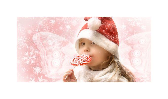 Hoffentlich ist der Weihnachtsmann kein Zahnarzt!